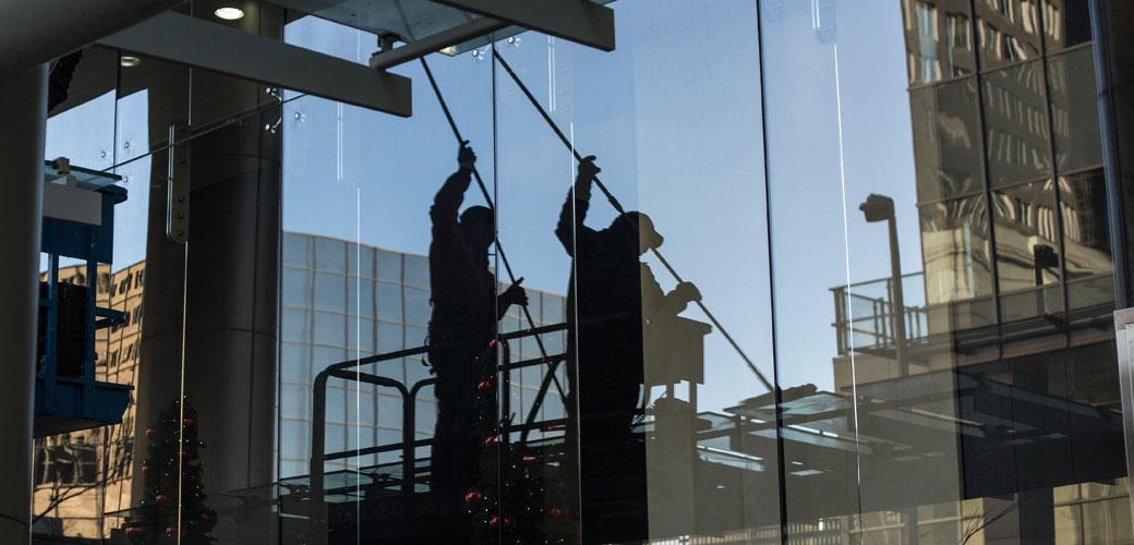 Nettoyage lavage vitrerie