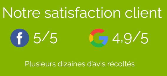 Satisfaction client Pro Nettoyage